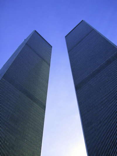 Anti-Terrorism - The Twin Towers in New York City